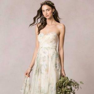 Jenny Yoo Ivory Sage Wedding Dress Sophia Style